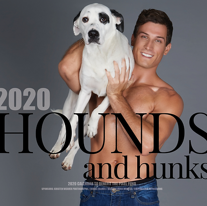 2020 Hunks and Hounds Calendar