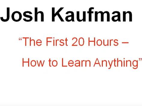 20 Hours vs 10,000 Hours