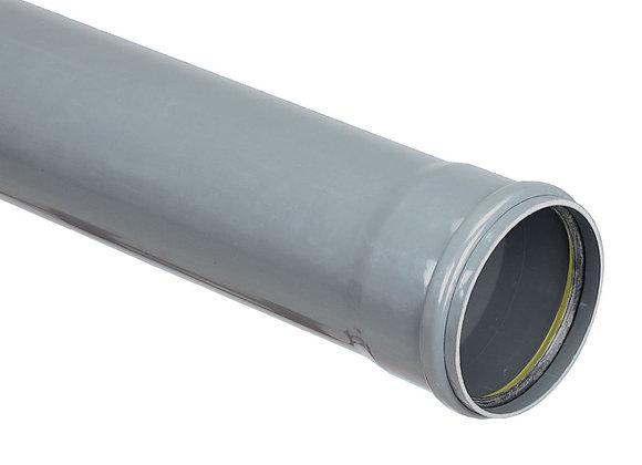 Tuyau PVC assainissement Eco TP CR8 diamètre 125 mm