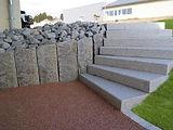 escalier en béton lissé urban aménagement 78