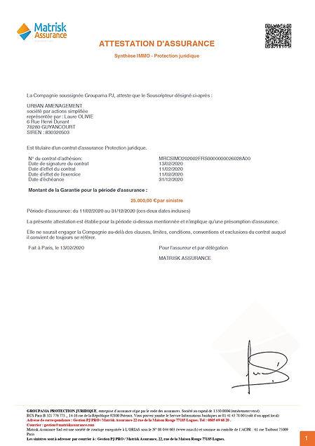assurance professionnelle laure olivie immobilier