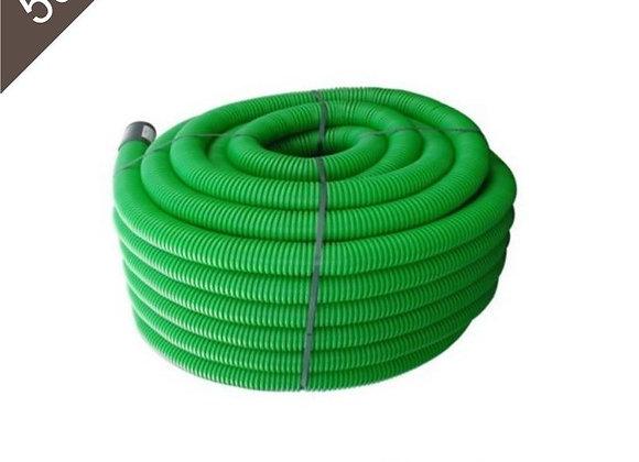 Gaine Tpc verte PTT Ø 40mm X 50 Mètres avec tire-fil