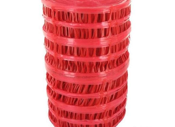 Grillage avertisseur rouge l.0,30m x L.100m EDF