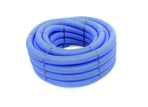 Gaine Tpc Bleu Ø 63mm X 50 Mètres avec tire-fil