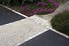 urban aménagement béton désactivé chainette réfection de sol