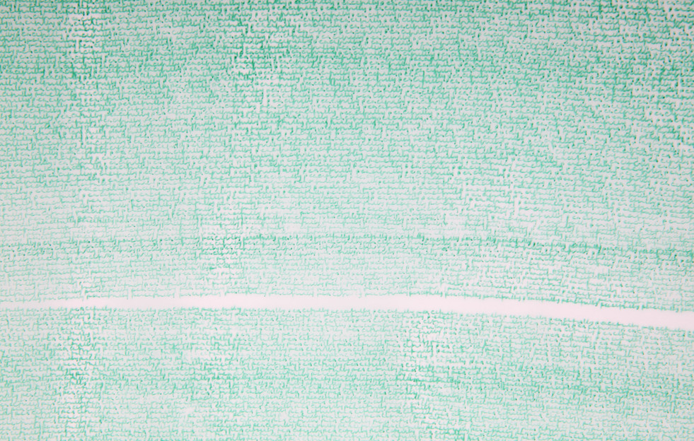 peacefully (detail) coloured pen on tracing paper (2017)