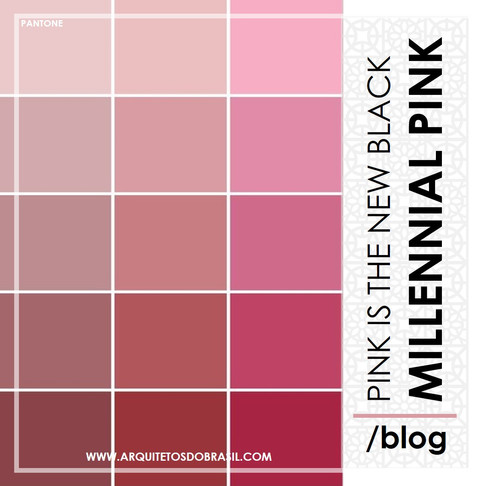 Pink Is The New Black - Millennial Pink