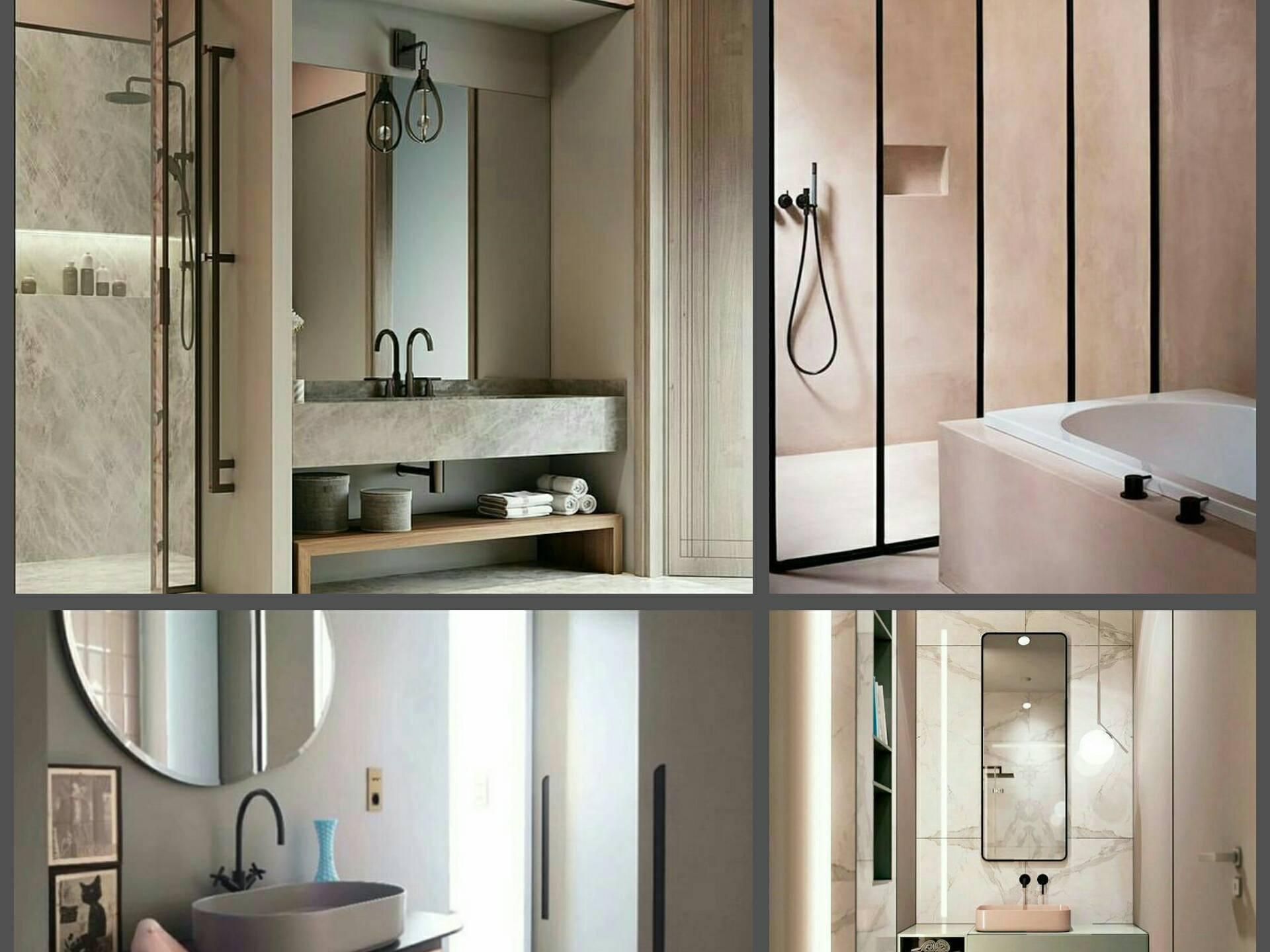 banheiros millennial grid