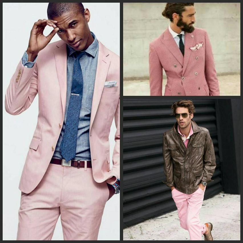 Moda Masculina em Millennial Pink