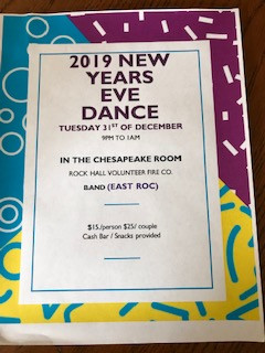2019 NEW YEARS EVE DANCE