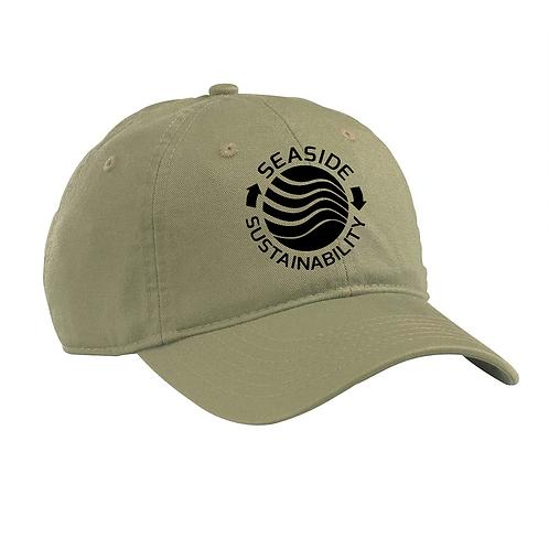 Baseball Hat Black Logo