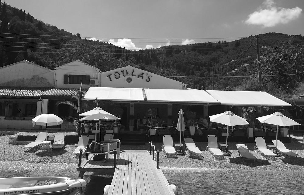Toula's Taverna Agni Bay