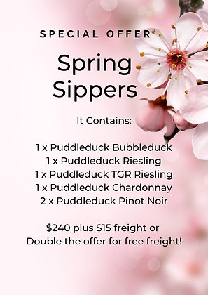 Spring Sippers Six Pack