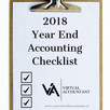 2018 Year End Accounting Checklist