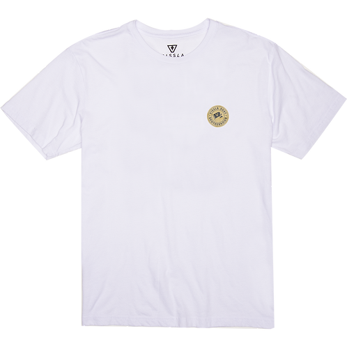 Polera Vissla Brotherhood Flag wht