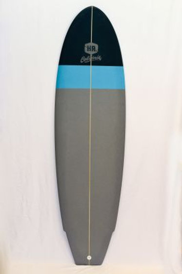 SURFBOARD HR CALIFORNIA (BLACK/LIGHTBLUE/GREY)