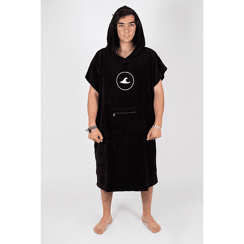 Poncho Dryhood - black