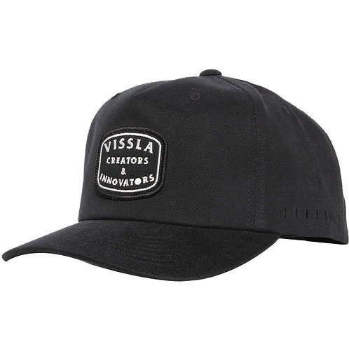 Structure Hat Black