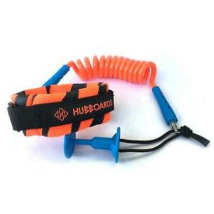 Leash Bodyboard Hubboards 9mm Orange