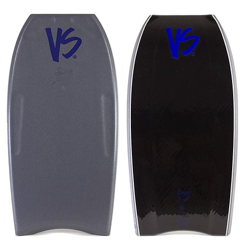 Bodyboard VS Win Parabolic Pro rider Gunmetal Gray – Black