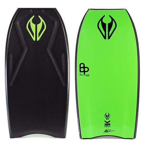 Bodyboard NMD Player Tech with Mesh Black – Fluro Green