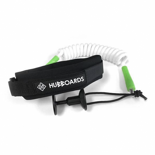 Leash Bodyboard Hubboards 9mm White