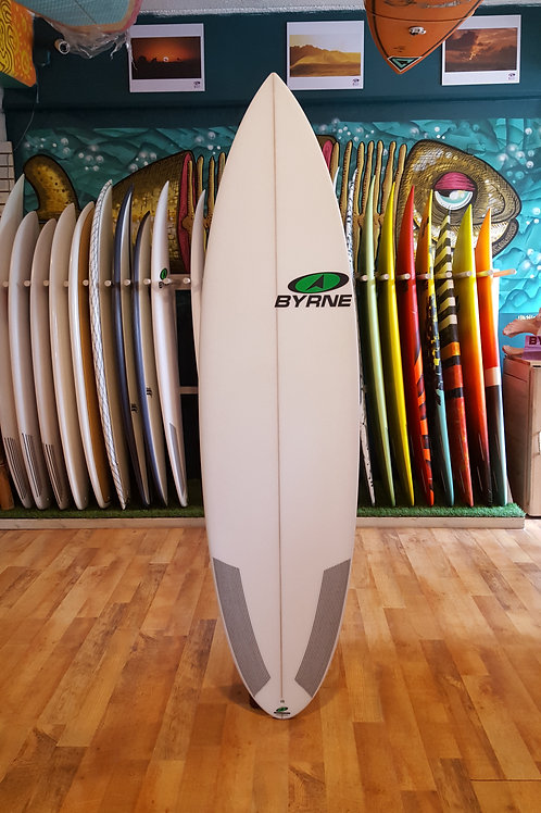 "Byrne ""Dragon Slayer"" 6'2 x 19 x 2 9/16  29.65 lts"
