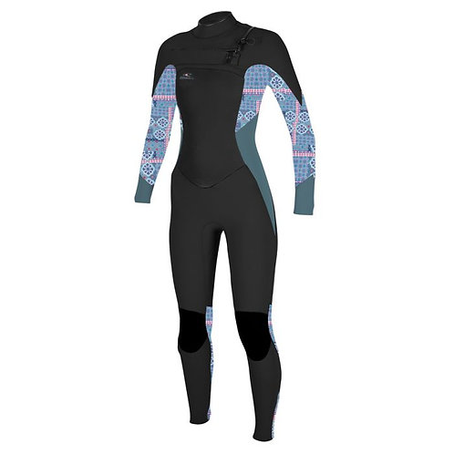 Oneill Super Freak 4.3 mm front zip
