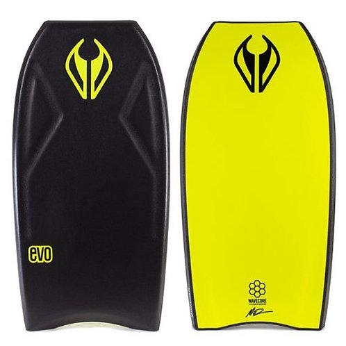 Bodyboard NMD EVO Black – Fluro Yellow