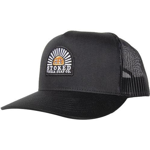 Solid Sets Hat Black