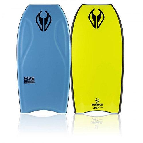 Bodyboard NMD 360 Aqua Blue – Yellow