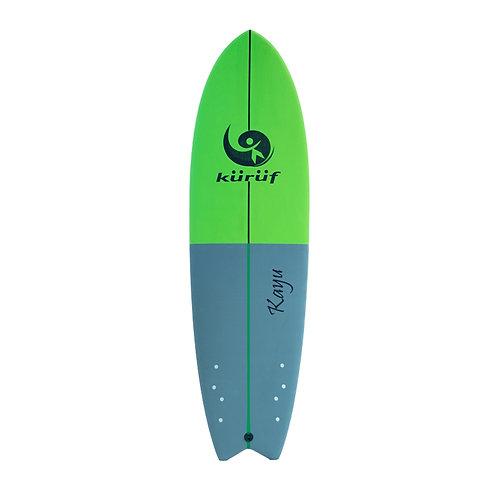 Softboard Kuruf 6'6 kayu