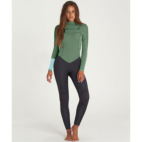 Billabong Synergy 4.3 mm front zipper