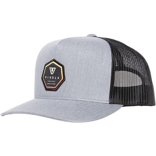 Sun Bar Hat Gray Heather