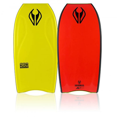 Bodyboard NMD 360 Yellow – Fluro Red –