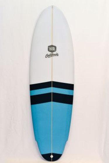 SURFBOARD HR CALIFORNIA (BLACK/LIGHTBLUE)