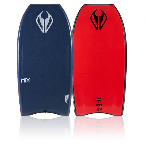 Bodyboard NMD Mix Surlyn Deep Sea – Fluro Red