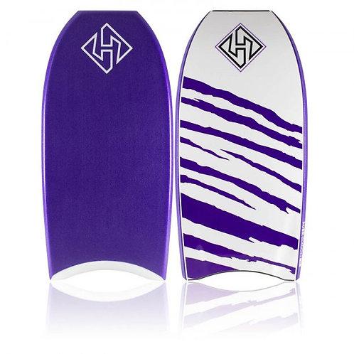 Bodyboard Hubb Dubb Edition 2 stringer Purple – Purple Stripes