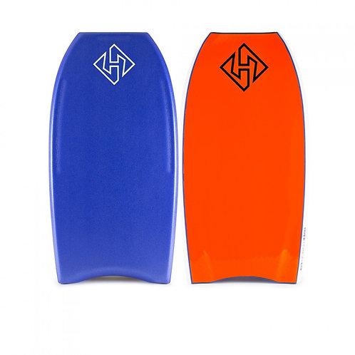 Bodyboard Hubb Surlyn PP Pro Deep Sea – Orange
