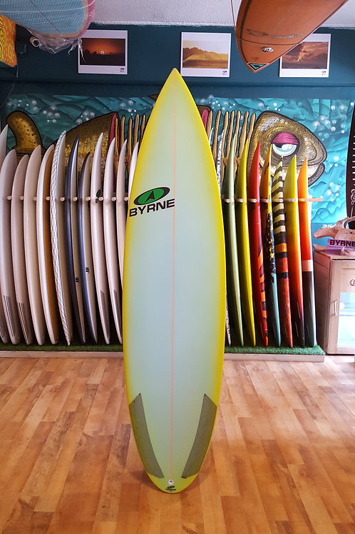 "Byrne ""MM Step-Up"" 6'6 x 19 1/2 x 2 5/8  34.1 lts"