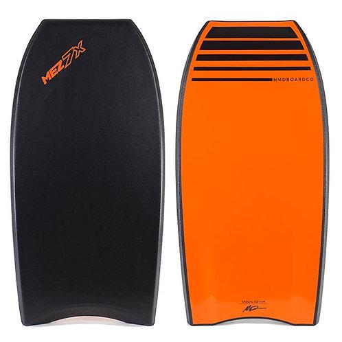 Bodyboard NMD Mez 7X PE Tech Black – Orange