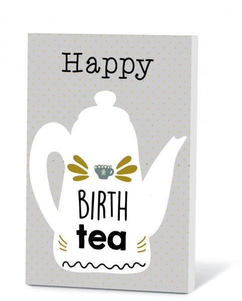 Thee in een kaart - Happy birth tea