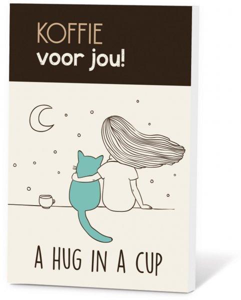 Koffie in een kaart - A hug in a cup