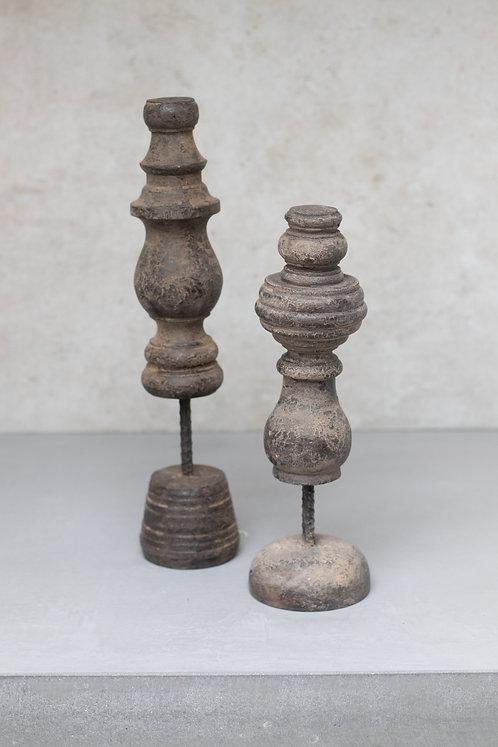 Set pilaren hout