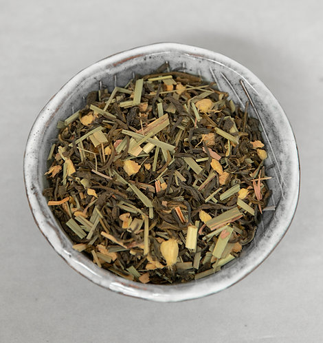 Sencha gember citroen - 100 gram
