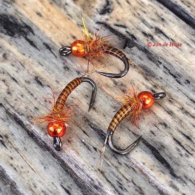 Orange Bead nymph