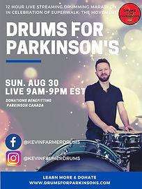 Drums For Parkinsons Poster 1080x1440.jp