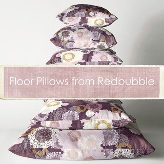 Floor Pillows from Redbubble