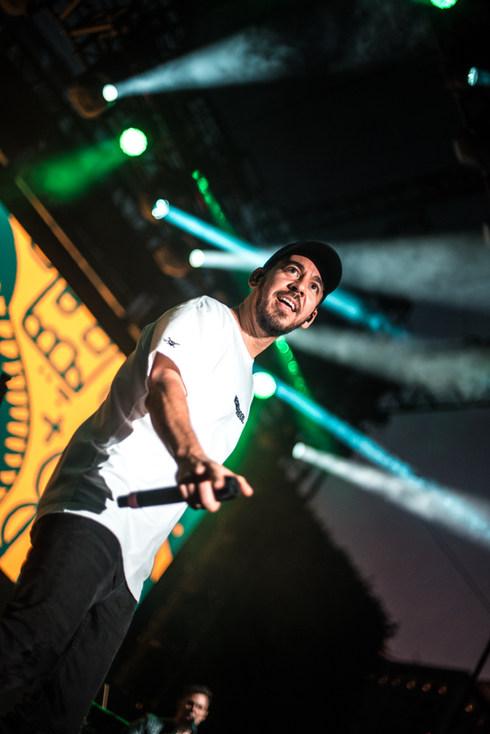 Mike Shinoda at Dia de los Deftones