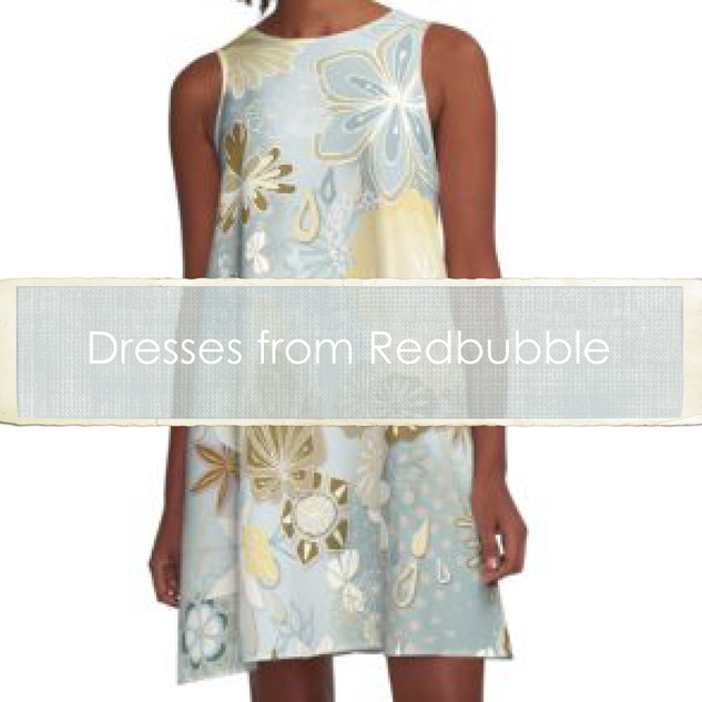 Dresses from Redbubble